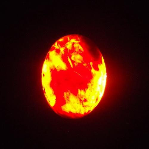 Batu Akik Kecubung Api