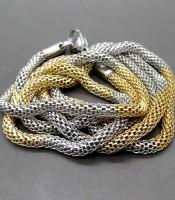 Jual Kalung Titanium Kuning Emas Putih