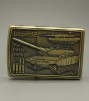 Korek Api Unik Motif Tank Leopard