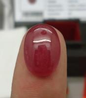 Batu Merah Delima Istimewa Lulus Tes Sertifikat