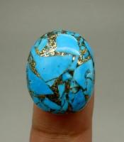 Batu Pusaka Pirus Urat Emas Yang Ampuh