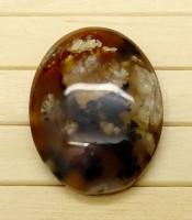Batu Mustika Lumut Hitam Bertuah Asli Ampuh