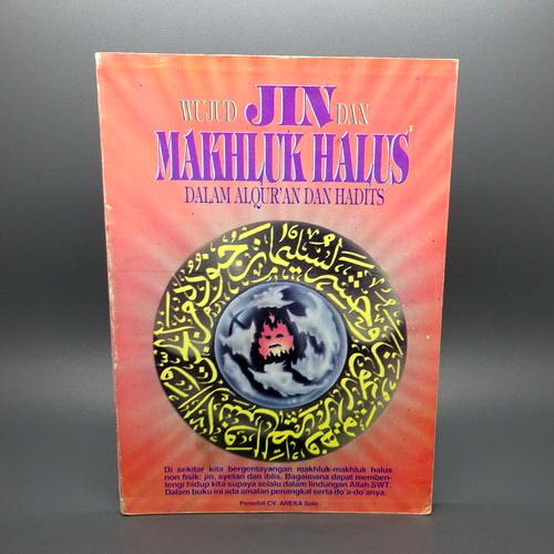 buku wujud jin dan makhluk halus dunia pusaka sakti