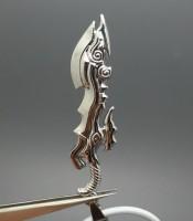 Aksesoris Kalung Pria Pedang Naga