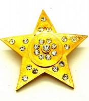 Pin Bros Baju Lambang Bintang Emas