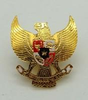Pin Bros Baju Lambang Garuda Pancasila Sepuh Emas