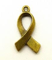 Aksesoris Bandul Gelang Awareness Ribbon Charms