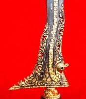 Manfaat Pusaka Keris Naga Raja Kinatah Emas Kerawang
