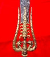 Pusaka Tombak Kyai Pleret Raja Lipan Naga Kembar