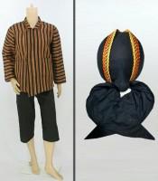 Grosir Stelan Surjan Celana Pendek dan Blangkon Jogja Sliwir Murah