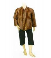 Grosir Surjan Lurik Ukur XXL dan Celana Pendek Murah