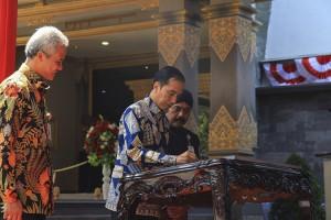 Presiden Jokowi Resmikan Museum Keris Nusantara Solo
