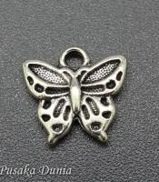 Bandul Gelang Kupu-kupu Silver