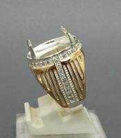 Model Cincin Perak Pria Combinasi Yang Elegan
