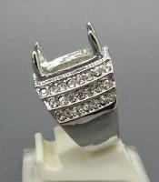 Model Cincin Rhodium Tabur Murah Elegan