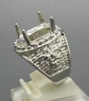Model Cincin Rhodium Untuk Batu Mustika