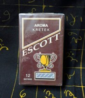 Rokok Asli Jadul Aroma Kretek Escott