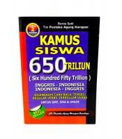 Kamus Siswa Bahasa Inggris Indonesia 650 Triliun