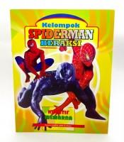 Grosir Buku Kreatif Mewarna Gambar Spiderman Beraksi Murah