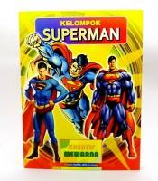Grosir Buku Kreatif Mewarna Superman Murah