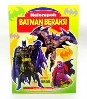 Grosir Buku Mewarna Gambar Batman Beraksi Murah