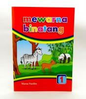 Grosir Buku Mewarna Gambar Binatang Murah