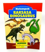 Grosir Buku Mewarna Gambar Raksasa Dinasaurus Murah