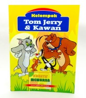 Grosir Buku Mewarna Kartun Tom Jerry Murah