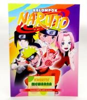 Grosir Buku Mewarnai Gambar Naruto Murah