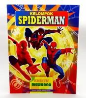 Grosir Buku Mewarnai Gambar Spiderman Murah