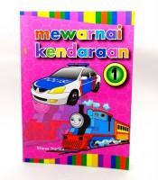 Grosir Buku Mewarnai Kendaraan Murah