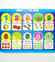 Grosir Mainan Puzzle Anak Berhitung 1-10 Murah