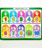 Grosir Mainan Puzzle Anak Mengenal Angka Murah