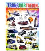 Grosir Poster Dinding Alat Transportasi