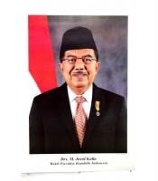 Grosir Poster Dinding Besar Wakil Presiden Drs. H. M. Jusuf Kalla