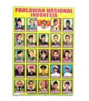 Grosir Poster Dinding Pahlawan Nasional Indonesia