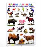 Grosir Poster Dinding Berbagai Macam Hewan Ternak