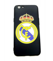 Grosir Oppo F1S Real Madrid Silicon Black Matte Murah
