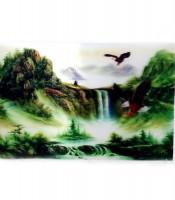 Grosir Poster Dinding 3D Air Terjun Elang