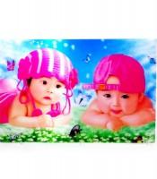 Grosir Poster Dinding 3D Bayi Lucu