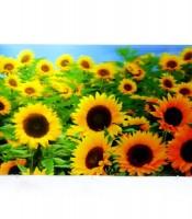 Grosir Poster Dinding 3D Bunga Matahari