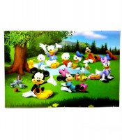 Grosir Poster Dinding Anak 3D Mickey Mouse and Friends