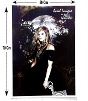 Grosir Poster Dinding Avril Lavigne At Alice In Wonderland