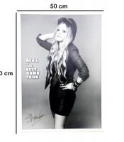 Grosir Poster Dinding Avril Lavigne