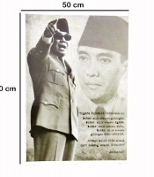 Grosir Poster Dinding Bung Karno Sang Proklamator