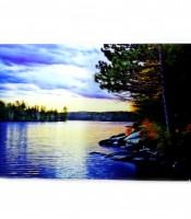 Grosir Poster Dinding Gambar Danau 3 Dimensi
