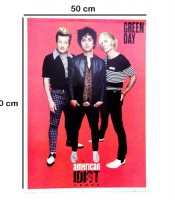 Grosir Poster Dinding Green Day American Idiot