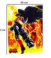 Grosir Poster Dinding Jin Kazama Tekken