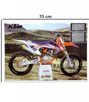 Grosir Poster Dinding KTM 450 SXF
