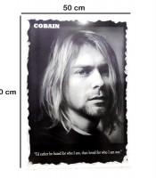 Grosir Poster Dinding Kurt Cobain Nirvana